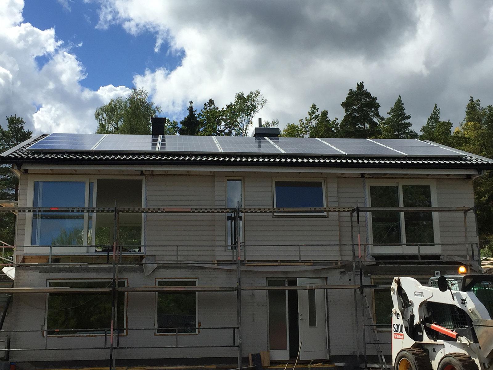 Installation Solceller Huddinge