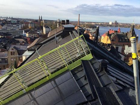 solceller Bastugatan, Stockholm